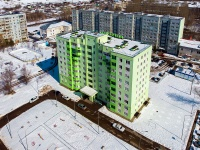 Жигулевск, улица Радиозаводская, дом 12. многоквартирный дом