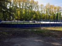 Жигулевск, улица Репина. спортивная площадка