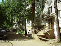 Zhigulevsk, Samarskaya st, house 25. Apartment house