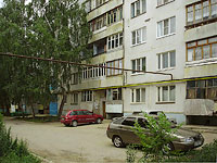 Zhigulevsk, Tkachev st, house 10. Apartment house