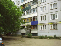 Zhigulevsk, Tkachev st, house 12. Apartment house