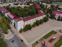 Novokuibyshevsk, st Belinsky, house 22. Apartment house