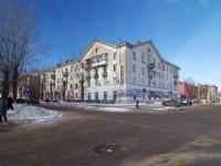 Novokuibyshevsk, st Belinsky, house 18. Apartment house