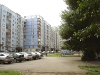 Novokuibyshevsk, Bocharikov st, house 12. Apartment house