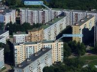 Новокуйбышевск, улица Бочарикова, дом 10. многоквартирный дом