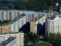 Novokuibyshevsk, Bocharikov st, house 12Б. Apartment house