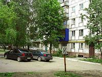 Novokuibyshevsk, st Budenny, house 4. Apartment house