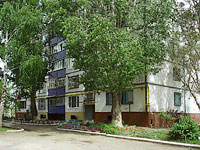 Novokuibyshevsk, Budenny st, house 5А. Apartment house
