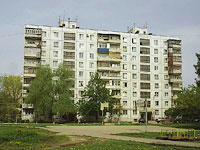 Novokuibyshevsk, Budenny st, house 5. Apartment house