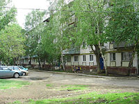 Novokuibyshevsk, Budenny st, house 8А. Apartment house