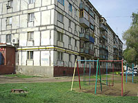 Novokuibyshevsk, Budenny st, house 10. Apartment house