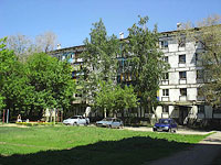 Novokuibyshevsk, Voroshilov st, house 2. Apartment house