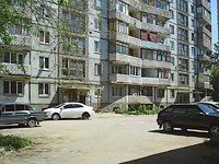 neighbour house: st. Voroshilov, house 4. Apartment house