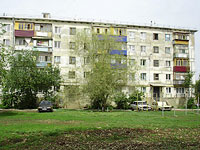 neighbour house: st. Voroshilov, house 8А. Apartment house