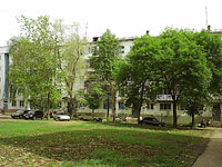 neighbour house: st. Voroshilov, house 8. Apartment house