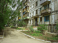 neighbour house: st. Voroshilov, house 10А. Apartment house
