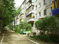 neighbour house: st. Voroshilov, house 10В. Apartment house