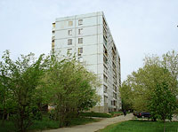 neighbour house: st. Voroshilov, house 10. Apartment house