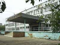 neighbour house: st. Voroshilov, house 12. gymnasium №1