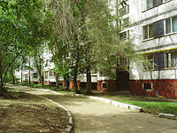 Novokuibyshevsk, Voroshilov st, house 14А. Apartment house