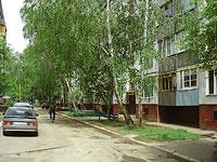 Novokuibyshevsk, Voroshilov st, house 14. Apartment house