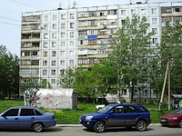 neighbour house: st. Voroshilov, house 22. Apartment house
