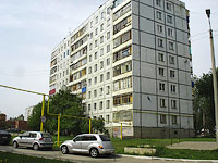 neighbour house: st. Voroshilov, house 26. Apartment house