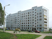 新古比雪夫斯克市,  , house 28. 公寓楼