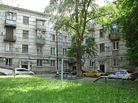 Novokuibyshevsk, Gagarin st, house 1. Apartment house