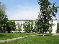 neighbour house: st. Gagarin, house 5. Apartment house