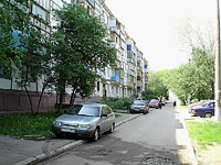 Novokuibyshevsk, Gagarin st, house 8. Apartment house