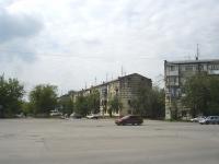 Novokuibyshevsk, Gagarin st, house 15. Apartment house