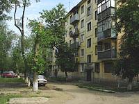 neighbour house: st. Gagarin, house 16. Apartment house