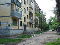 Novokuibyshevsk, Gagarin st, house 16. Apartment house