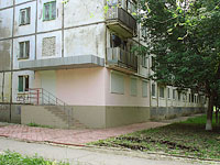 Novokuibyshevsk, Gagarin st, house 18. Apartment house
