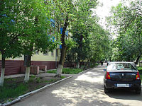 Novokuibyshevsk, Gagarin st, house 28. Apartment house