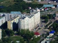 Новокуйбышевск, улица Горького, дом 17. многоквартирный дом