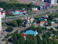 Новокуйбышевск, церковь во имя Серафима Саровского, улица Горького, дом 19