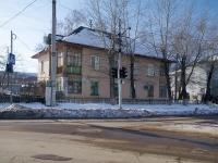 Новокуйбышевск, улица Горького, дом 24. многоквартирный дом