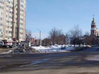 Новокуйбышевск, улица Горького. площадь Нижняя