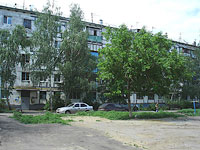Novokuibyshevsk, Dzerzhinsky st, house 4. Apartment house