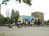 """Новокуйбышевск, улица Дзержинского, дом 6. торговый центр """"Авангард"""""""