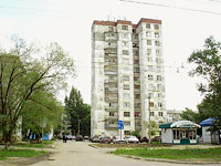 Novokuibyshevsk, Dzerzhinsky st, house 8А. Apartment house