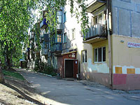Novokuibyshevsk, Dzerzhinsky st, house 17А. Apartment house