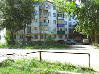 Novokuibyshevsk, Dzerzhinsky st, house 22. Apartment house