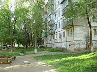 Novokuibyshevsk, Dzerzhinsky st, house 25. Apartment house