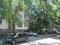 Novokuibyshevsk, Dzerzhinsky st, house 38В. Apartment house
