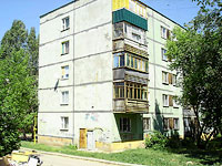 Novokuibyshevsk, Dzerzhinsky st, house 43Б. Apartment house