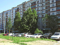 Novokuibyshevsk, Dzerzhinsky st, house 43. Apartment house