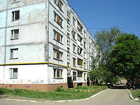Novokuibyshevsk, Dzerzhinsky st, house 52. Apartment house